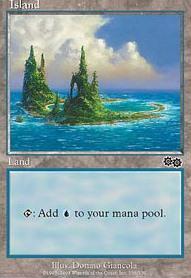 Urza's Saga: Island (338 D)