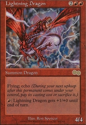 Urza's Saga: Lightning Dragon