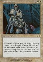 Urza's Saga: Opal Titan