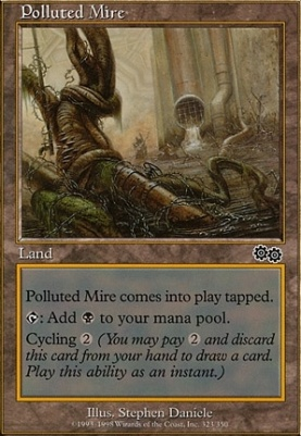 Urza's Saga: Polluted Mire
