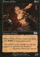 Urza's Saga: Priest of Gix