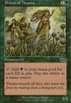 Urza's Saga: Priest of Titania