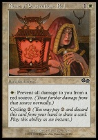 Urza's Saga: Rune of Protection: Red