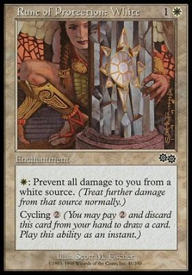 Urza's Saga: Rune of Protection: White