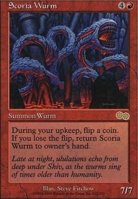 Urza's Saga: Scoria Wurm