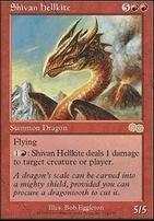 Urza's Saga: Shivan Hellkite