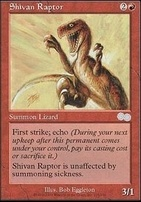 Urza's Saga: Shivan Raptor