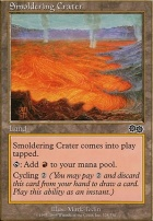Urza's Saga: Smoldering Crater