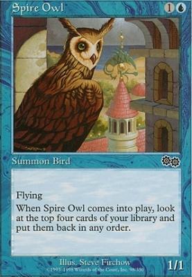 Urza's Saga: Spire Owl