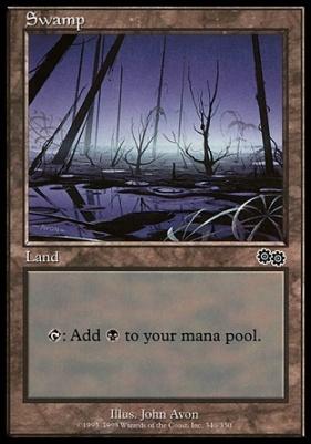 Urza's Saga: Swamp (340 B)