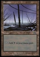 Urza's Saga: Swamp (342 D)
