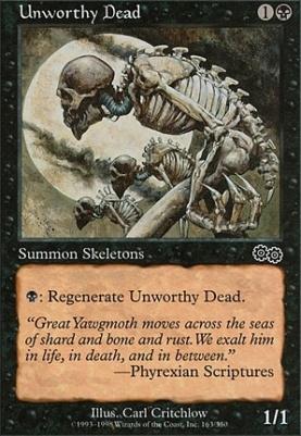 Urza's Saga: Unworthy Dead