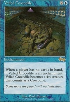 Urza's Saga: Veiled Crocodile