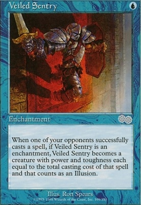 Urza's Saga: Veiled Sentry