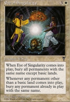 Visions: Eye of Singularity