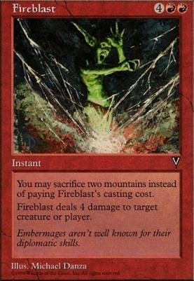 Visions: Fireblast