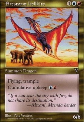 Visions: Firestorm Hellkite