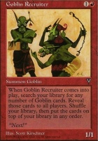 Visions: Goblin Recruiter