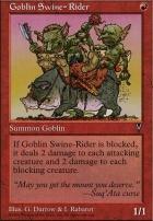 Visions: Goblin Swine-Rider