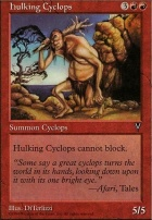 Visions: Hulking Cyclops