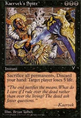 Visions: Kaervek's Spite
