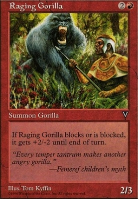 Visions: Raging Gorilla