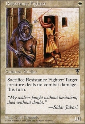 Visions: Resistance Fighter