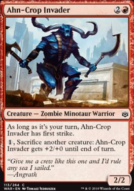 War of the Spark: Ahn-Crop Invader