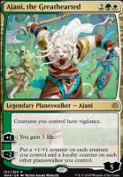 War of the Spark Foil: Ajani, the Greathearted