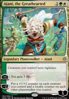 Promotional: Ajani, the Greathearted (Prerelease Foil)