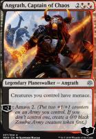 War of the Spark: Angrath, Captain of Chaos