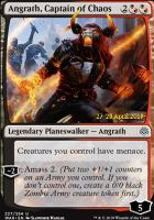 Promotional: Angrath, Captain of Chaos (Prerelease Foil)