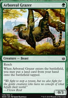 War of the Spark: Arboreal Grazer
