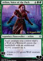Promotional: Arlinn, Voice of the Pack (Prerelease Foil)