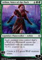 War of the Spark Foil: Arlinn, Voice of the Pack