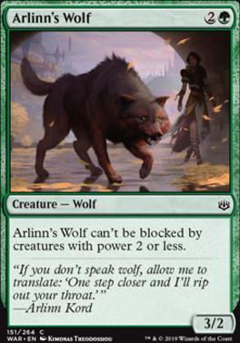 War of the Spark: Arlinn's Wolf
