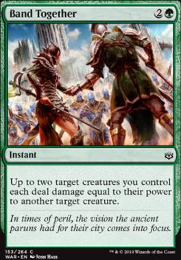 War of the Spark Foil: Band Together