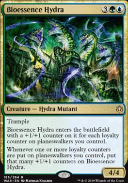 War of the Spark Foil: Bioessence Hydra