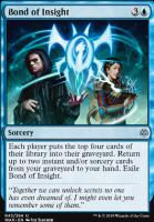War of the Spark Foil: Bond of Insight