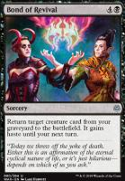 War of the Spark Foil: Bond of Revival