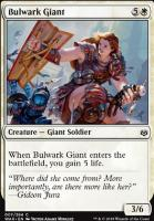 War of the Spark Foil: Bulwark Giant