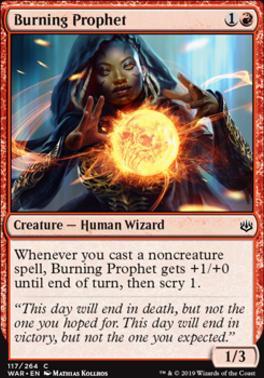 War of the Spark: Burning Prophet