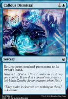 War of the Spark Foil: Callous Dismissal