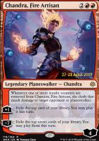 Promotional: Chandra, Fire Artisan (Prerelease Foil)
