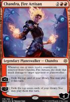 War of the Spark Foil: Chandra, Fire Artisan