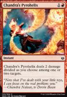War of the Spark Foil: Chandra's Pyrohelix
