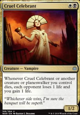 War of the Spark: Cruel Celebrant