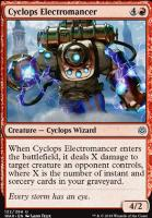 War of the Spark Foil: Cyclops Electromancer