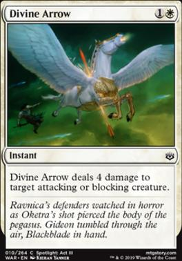 War of the Spark Foil: Divine Arrow