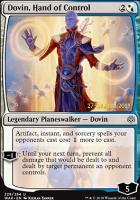 Promotional: Dovin, Hand of Control (Prerelease Foil)